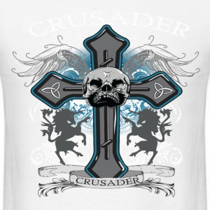 Cross Requiem (White) T-Shirts - Men's T-Shirt