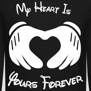 My heart is yours forever - Crewneck Sweatshirt