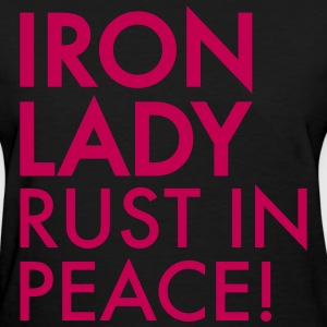 iron lady rust in peace - Women's T-Shirt