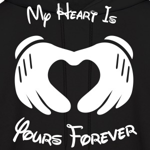 My heart is yours forever - Men's Hoodie