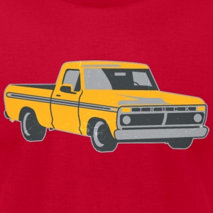 pickup truck vintage-look T-Shirts - Men's T-Shirt by American Apparel