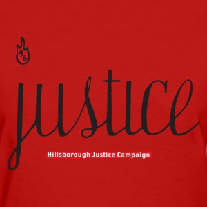 Justice For The 96 t-shirt (WOMEN) - Women's T-Shirt