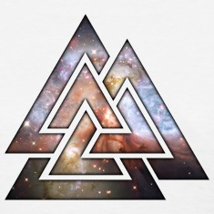 Cosmic Valknut Women's T-Shirts