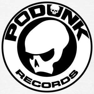 PoDunk Records Logo - Men's T-Shirt