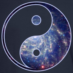 Cosmic Yin Yang Long Sleeve Shirts