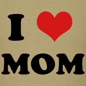 KCCO - I Heart-Love Mom T-Shirts - Men's T-Shirt