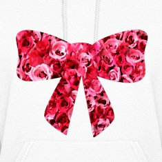 Floral Bow Hoodies