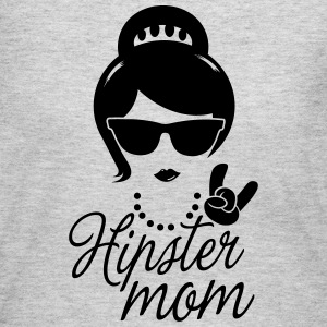 Like a love hipster mother mom mother's day boss Long Sleeve Shirts - Women's Long Sleeve Jersey T-Shirt