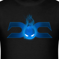 Design ~ MENS TEE: DotaCinema logo 2 black