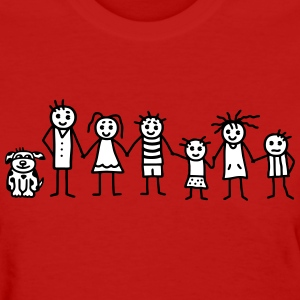 Family / Patchwork Family - V2 Women's T-Shirts - Women's T-Shirt