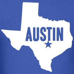 Austin, TX - Men's T-Shirt