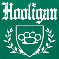 IRISH HOOLIGAN - Brass Knuckle Crest