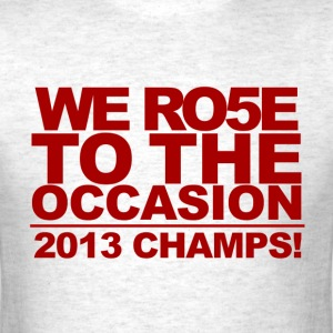 Louisville Cardinals Rose to the Occasion Tshirt - Men's T-Shirt