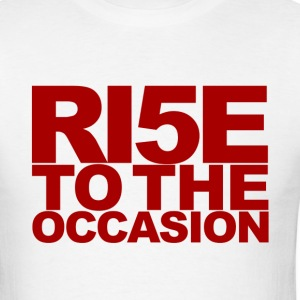 Louisville Cardinals Rise to the Occasion - Men's T-Shirt