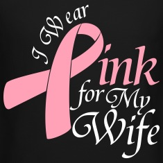 I Wear Pink For My Wife Long Sleeve Shirts