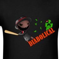 Design ~ The 'Diabolical' Sack (Light T-Shirt)