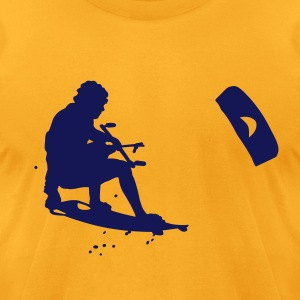 kitesurfing T-Shirts - Men's T-Shirt by American Apparel