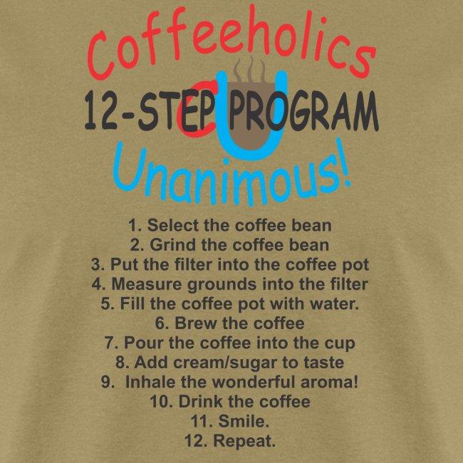 coffeholics 12 step