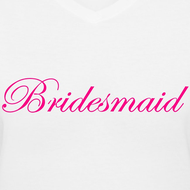 Bridesmaid By Vanity