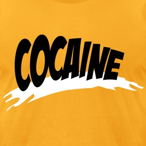 cocaine T-Shirts - Men's T-Shirt by American Apparel