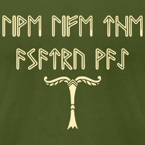 Asatru - Men's T-Shirt by American Apparel