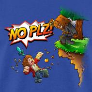 Design ~ No Plz T-Shirt (M)