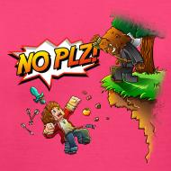 Design ~ No Plz T-Shirt (F)