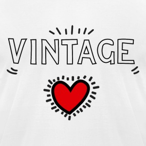 Vintageness 03 T-Shirts - Men's T-Shirt by American Apparel