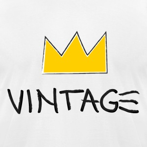 Vintageness 04 T-Shirts - Men's T-Shirt by American Apparel