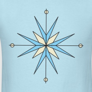 Star Compass T-Shirts - Men's T-Shirt