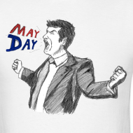 Design ~ May Day Men's T-Shirt