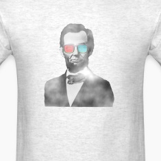Abraham Lincoln 3d glasses  T-Shirts