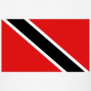 Trinidad Flag T-Shirt - Men's T-Shirt