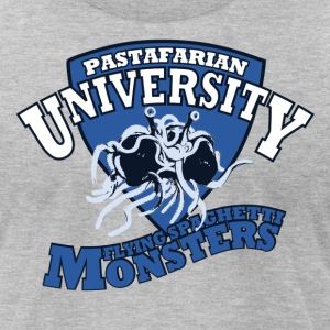 Pastafarian University FSM's shirt - Men's T-Shirt by American Apparel
