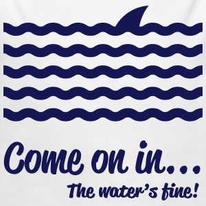 Come on in... The waters's fine! Baby & Toddler Shirts - Long Sleeve Baby Bodysuit
