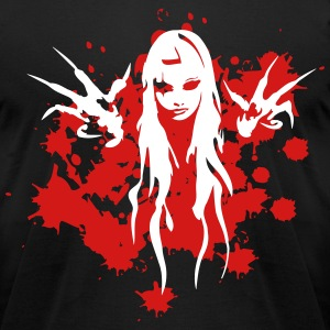 bloody witch T-Shirts - Men's T-Shirt by American Apparel