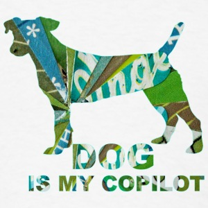 DOG IS MY COPILOT T-Shirts - Men's T-Shirt