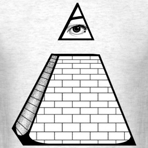 All Seeing Pyramid T-Shirts - Men's T-Shirt