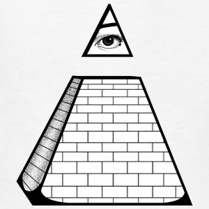 All Seeing Pyramid Kids' Shirts - Kids' T-Shirt