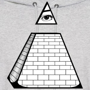 All Seeing Pyramid Hoodies - Men's Hoodie