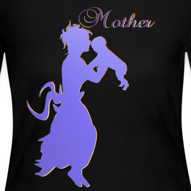 Mother-silhouette