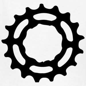 Wheel Gear Ring Mountainbike MTB Downhill 1c Kids' Shirts - Kids' T-Shirt