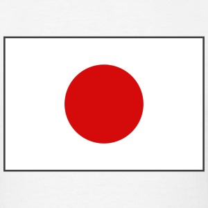 Japan Flag T-Shirt - Men's T-Shirt