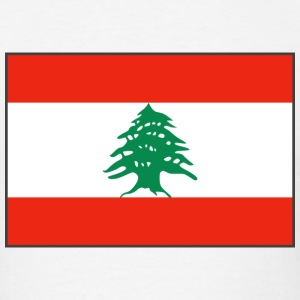 Lebanon Flag T-Shirt - Men's T-Shirt
