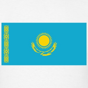 Kazakhstan Flag T-Shirt - Men's T-Shirt