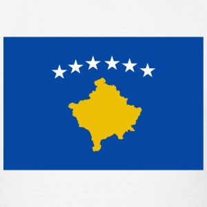Kosovo Flag T-Shirt - Men's T-Shirt