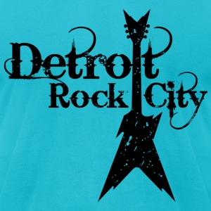 DETROIT ROCK CITY T-Shirts - Men's T-Shirt by American Apparel