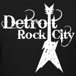 DETROIT ROCK CITY white Women's T-Shirts - Women's T-Shirt