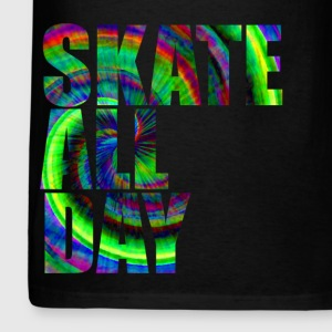 Skate All Tie Dye Day - Men's T-Shirt