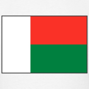 Madagascar Flag T-Shirt - Men's T-Shirt